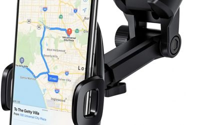 Car Phone Mount, Mpow Universal Dashboard/Windshield Mobile Phone Car Cradles, Washable Gel Pad Car Phone Holder Compatible iPhone 11Pro Max/11 Pro/Xr/Xsmax/X/8, Galaxy S10/S9/S8/S7, Google, HTC, LG E