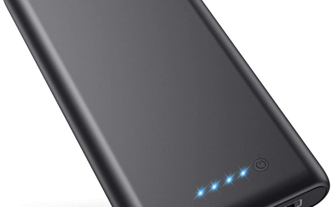 VOOE Power Bank, 【26800mAh Updated Version】 Portable Charger High Capacity External Battery Pack with Dual USB Output Quick Charging Portable Phone Charger for Smart Phones Tablets and More (Black)